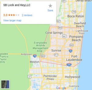 image of sb lock and key map