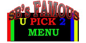 image of you pick two menu